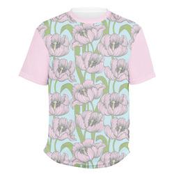 Wild Tulips Men's Crew T-Shirt (Personalized)