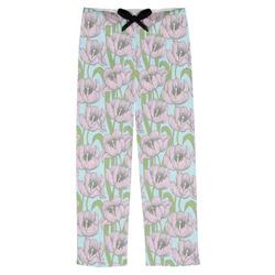 Wild Tulips Mens Pajama Pants (Personalized)