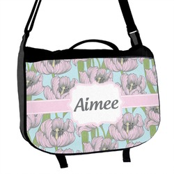 Wild Tulips Messenger Bag (Personalized)