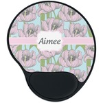 Wild Tulips Mouse Pad with Wrist Support