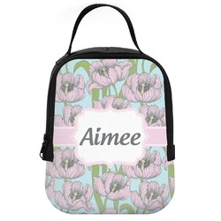 Wild Tulips Neoprene Lunch Tote (Personalized)