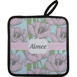 Wild Tulips Pot Holder (Personalized)