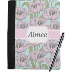 Wild Tulips Notebook Padfolio (Personalized)