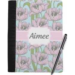 Wild Tulips Notebook Padfolio (Personalized)