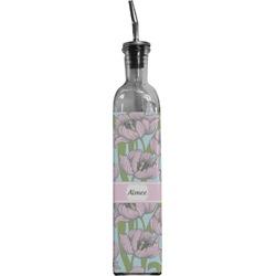 Wild Tulips Oil Dispenser Bottle (Personalized)