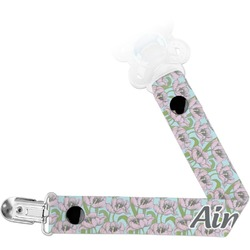 Wild Tulips Pacifier Clips (Personalized)