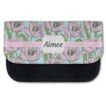 Wild Tulips Canvas Pencil Case w/ Name or Text