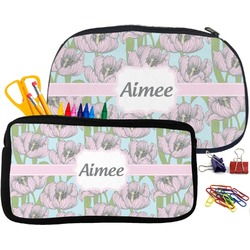 Wild Tulips Pencil / School Supplies Bag (Personalized)