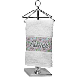 Wild Tulips Finger Tip Towel (Personalized)