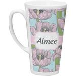 Wild Tulips Latte Mug (Personalized)
