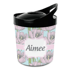 Wild Tulips Plastic Ice Bucket (Personalized)