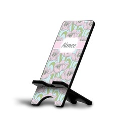 Wild Tulips Phone Stand (Personalized)