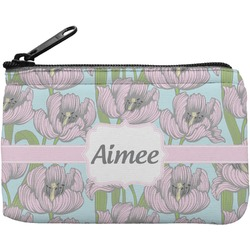 Wild Tulips Rectangular Coin Purse (Personalized)