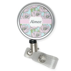 Wild Tulips Retractable Badge Reel (Personalized)