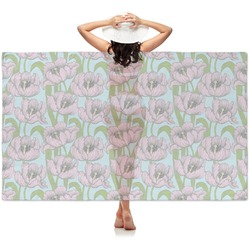 Wild Tulips Sheer Sarong (Personalized)