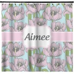Wild Tulips Shower Curtain (Personalized)