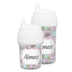Wild Tulips Sippy Cup (Personalized)