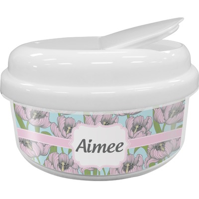 Wild Tulips Snack Container (Personalized)