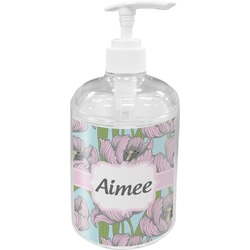 Wild Tulips Acrylic Soap & Lotion Bottle (Personalized)