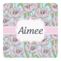 Wild Tulips Square Decal - Custom Size (Personalized)