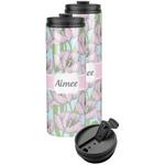Wild Tulips Stainless Steel Skinny Tumbler (Personalized)