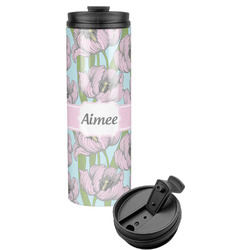 Wild Tulips Stainless Steel Tumbler (Personalized)
