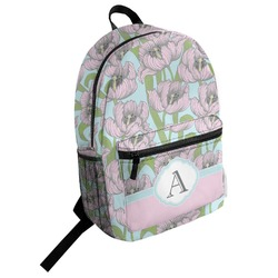 Wild Tulips Student Backpack (Personalized)