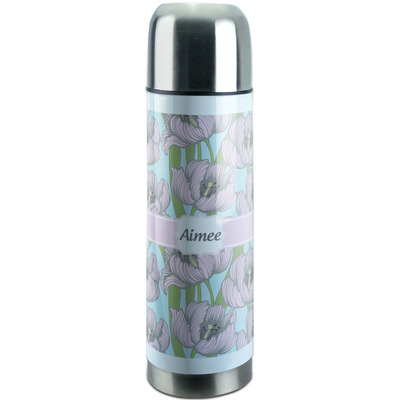 Wild Tulips Stainless Steel Thermos (Personalized)