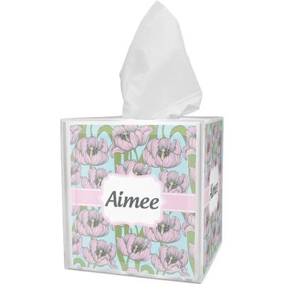 Wild Tulips Tissue Box Cover (Personalized)