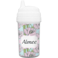 Wild Tulips Toddler Sippy Cup (Personalized)