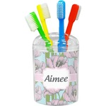Wild Tulips Toothbrush Holder (Personalized)
