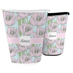 Wild Tulips Waste Basket (Personalized)