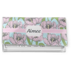 Wild Tulips Vinyl Checkbook Cover (Personalized)