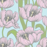 Wild Tulips Wallpaper & Surface Covering