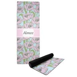 Wild Tulips Yoga Mat (Personalized)