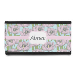 Wild Tulips Leatherette Ladies Wallet (Personalized)