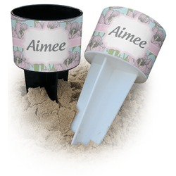 Wild Tulips Beach Spiker Drink Holder (Personalized)