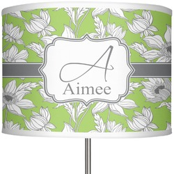 "Wild Daisies 13"" Drum Lamp Shade Polyester (Personalized)"