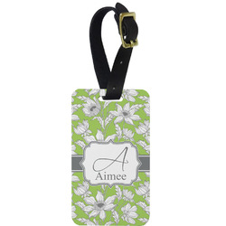 Wild Daisies Aluminum Luggage Tag (Personalized)