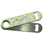 Wild Daisies Bar Bottle Opener w/ Name and Initial