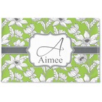 Wild Daisies Woven Mat (Personalized)