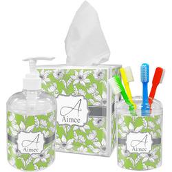 Wild Daisies Bathroom Accessories Set (Personalized)