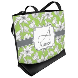 Wild Daisies Beach Tote Bag (Personalized)