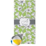 Wild Daisies Beach Towel (Personalized)