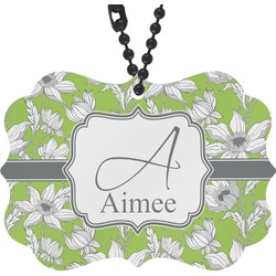 Wild Daisies Rear View Mirror Charm (Personalized)