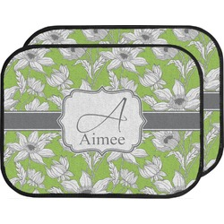 Wild Daisies Car Floor Mats (Back Seat) (Personalized)