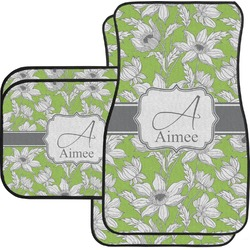 Wild Daisies Car Floor Mats (Personalized)