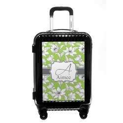 Wild Daisies Carry On Hard Shell Suitcase (Personalized)
