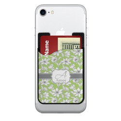 Wild Daisies Cell Phone Credit Card Holder (Personalized)