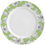 Wild Daisies Ceramic Dinner Plates (Set of 4) (Personalized)